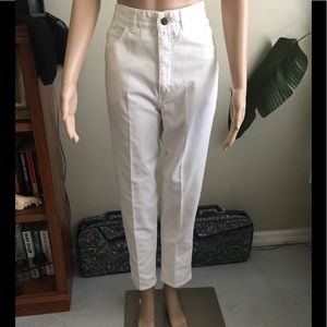 Vintage 80s Guess White High Waisted Jeans 32